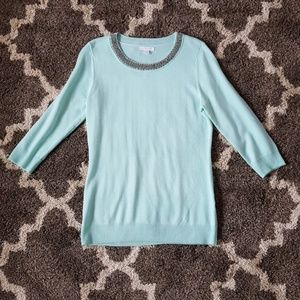 Light turquoise top